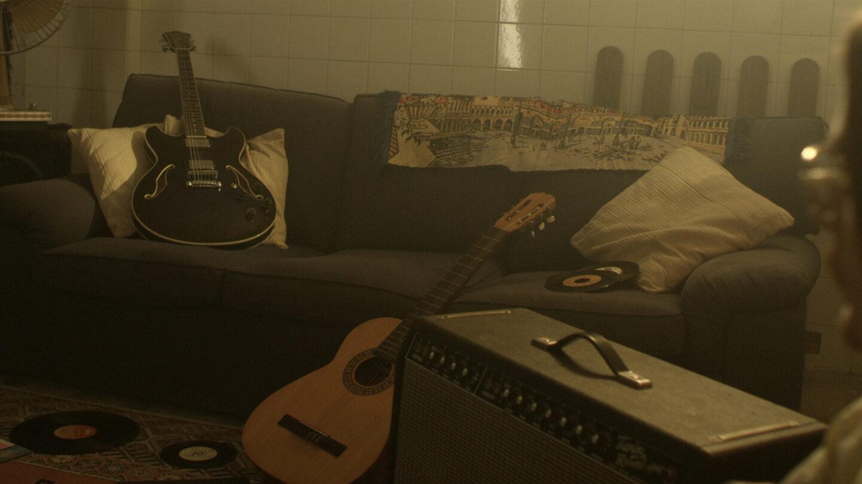 Verde constancia. Guitarra
